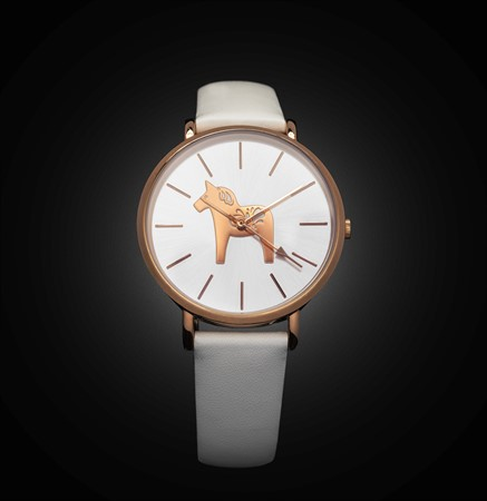 Dalawatch Rose & White Leather